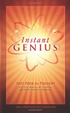 Instant Genius: Fast Food For Thought by…