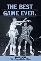 Best Game Ever: How Frank Mcguire's '57 Tar…