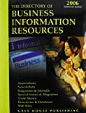 Gottlieb, Richard: Directory of Business Information Resources 2006