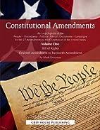 Constitutional amendments : an encyclopedia…