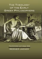 The Theology of the Early Greek…