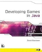 Developing Games in Java by David Brackeen