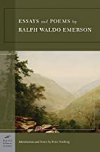 Essays & Poems by Ralph Waldo Emerson…