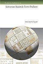 Sumerian Records From Drehem, by William…