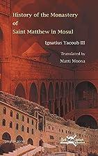 History of the Monastery of Saint Matthew in…