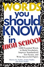 Words You Should Know In High School: 1000…