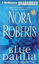 Blue Dahlia (In the Garden 1) by Nora…