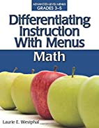 Differentiating Instruction With Menus: Math…