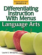 Differentiating Instruction With Menus…