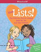 More Lists!: The Fill-It-In, Pass-It-Around…