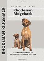 Rhodesian Ridgeback by Ann Chamberlain