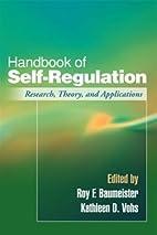Handbook of Self-Regulation: Research,…