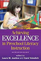 Achieving Excellence in Preschool Literacy…