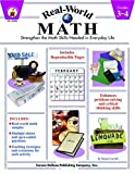 Carroll, Susan: Real-World Math: Strengthen the Math Skills Needed in Everyday Life, Grades 3-4