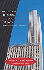 Between citizen and state : an introduction…
