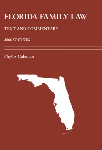 florida-family-law-text-and-commentary-statutes-2006
