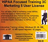 Farb, Daniel: HIPAA Focused Training 3C: Marketing, 5 Users