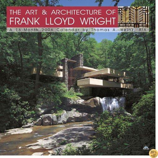 2006 Frank Lloyd Wright Architecture Calendar (12x12)