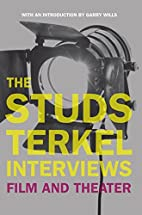 The Studs Terkel Interviews: Film and…