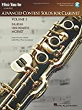 Stanley Drucker: Music Minus One Clarinet: Advanced Contest Solos, Vol. I (Book & CD)