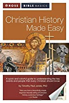 Christian History Made Easy (Rose Bible…