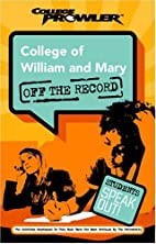 College of William and Mary: Off the Record…