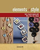 Elements of Style: Knit & Crochet Jewelry…