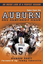 Tales from the Auburn 2004 Championship…