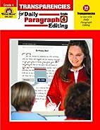 Daily Paragraph Editing Transparencies,…