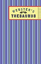 Webster's Thesaurus (Green Words) by…