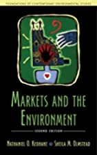 Markets and the Environment (Foundations of…