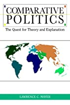 Comparative Politics: The Quest for Theory…