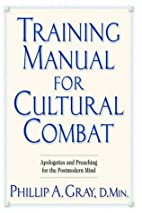 Training Manual for Cultural Combat by…