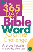365 DAY BIBLE WORD GAME CHALLENGE by Barbour…