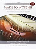 Phillips, Christopher: Made to Worship Piano/Cello Songbook (Listening CD Included Inside Back Cover) (Instrumental Worship (Brentwood-Benson))