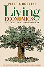 Living Economics: Yesterday, Today, and…