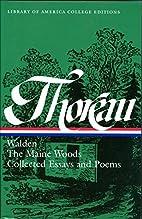 Thoreau: Walden, Maine Woods, Essays, &…