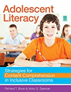 Adolescent Literacy: Strategies for Content…