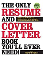 The Only Resume and Cover Letter Book…