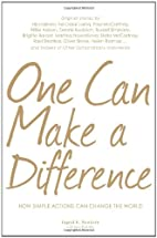 One Can Make a Difference: Original stories…