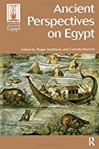 Ancient Perspectives on Egypt (Encounters…