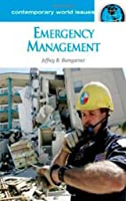 Emergency Management: A Reference Handbook…