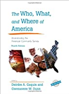 The Who, What, and Where of America:…