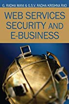 Web Services Security and E-business by G.…