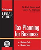Tax Planning for Your Business (Entrepreneur…