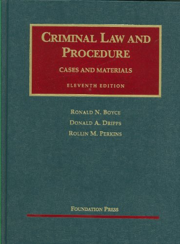 criminal-law-and-procedure-11th-university-cas-series