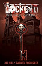 Cover art for Welcome To Lovecraft, featuring a skull-topped key overlying a tall wooden house. The cover is in tones of red.
