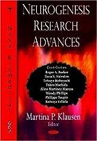 Neurogenesis Research Advances by Martina P.…
