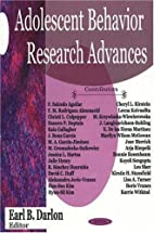 Adolescent Behavior Research Advances by…