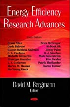 Energy Efficiency Research Advances by David…
